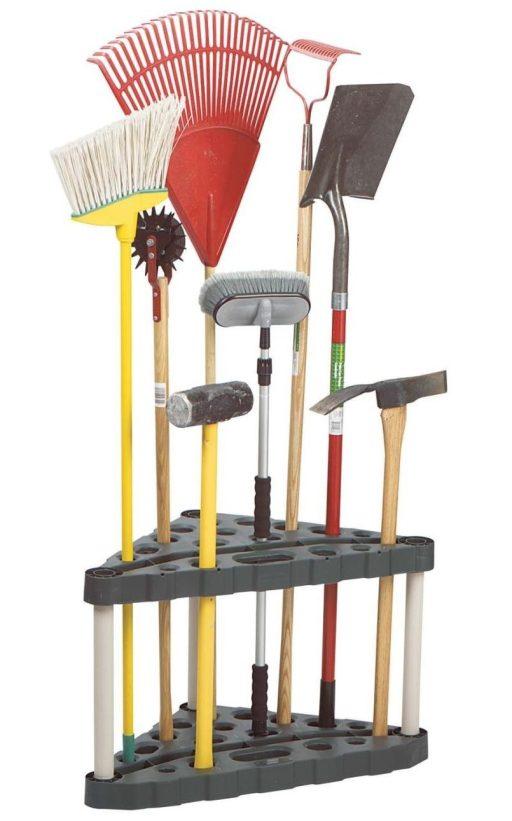 Rubbermaid Corner tool rack