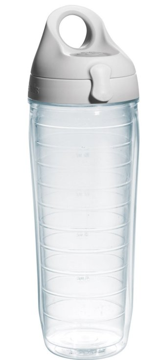 Tervis 24 oz. Clear Water Bottle