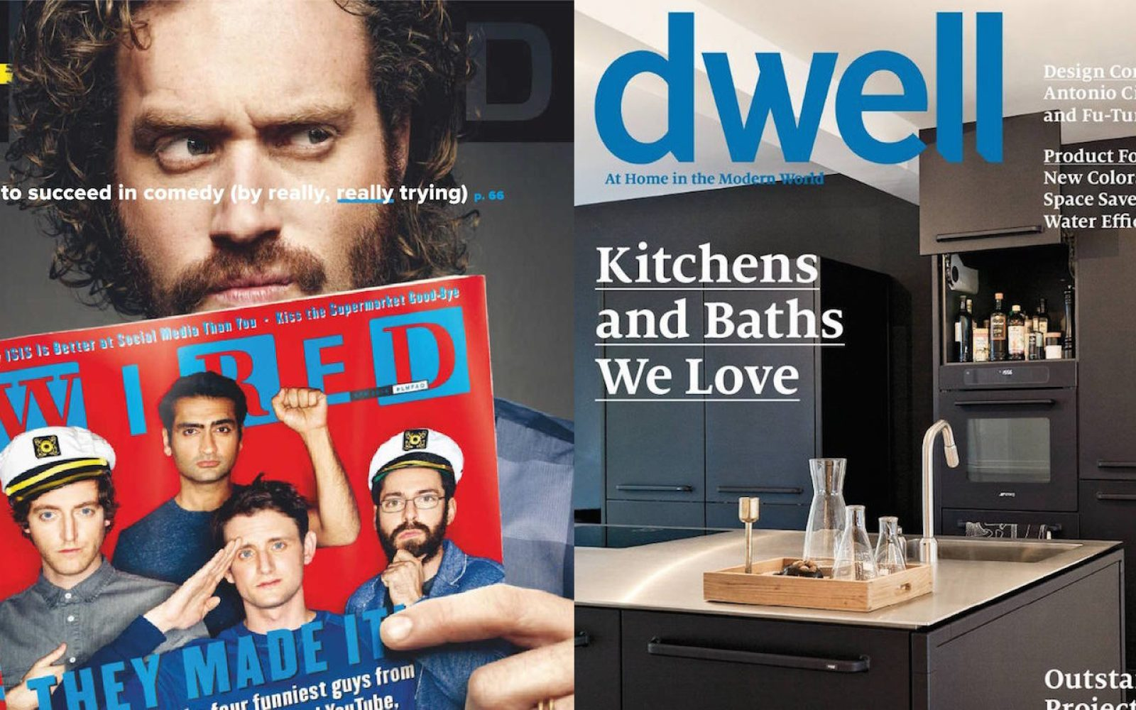 Magazine bundles with titles from $4/yr: Wired, GQ, ESPN, Dwell