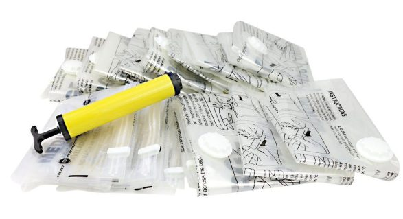 Home complete vacuum space saver bags
