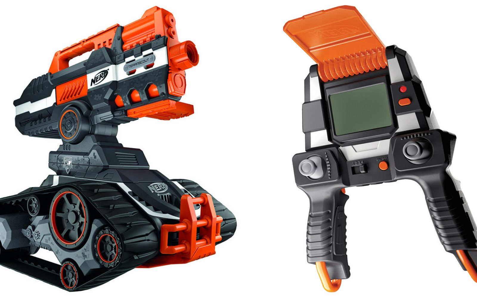 NERF's upcoming Terrascout RC Drone Blaster is going to be a