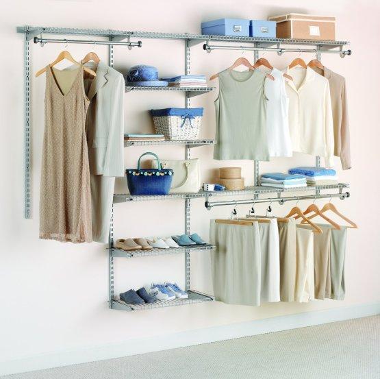 Rubbermaid deluxe custom closet