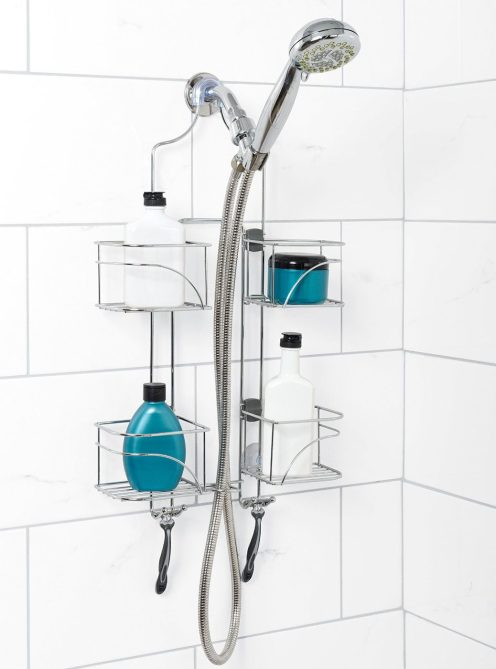 zenith products expandable shower caddy