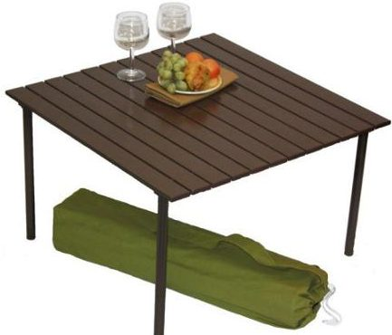 low table in a bag
