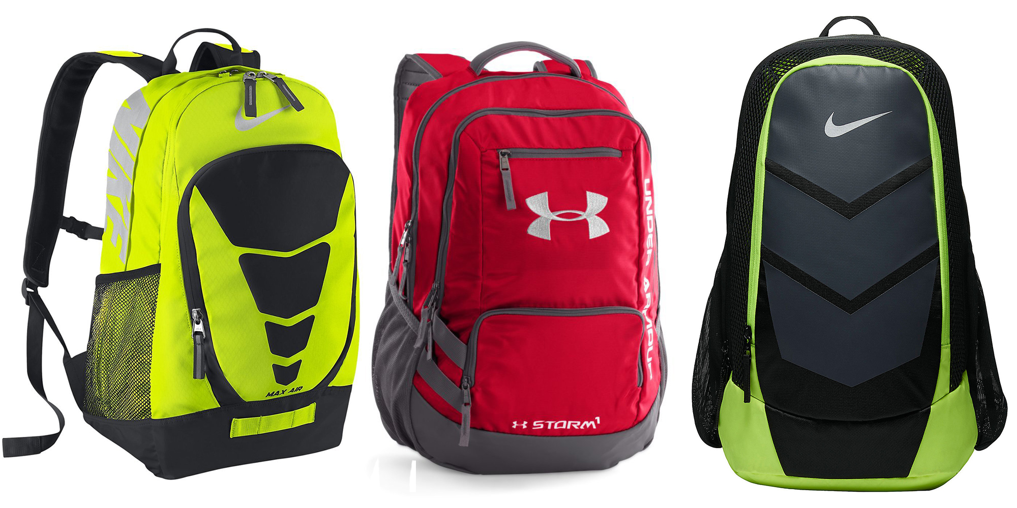 Your choice of Nike and Under Armour Sport