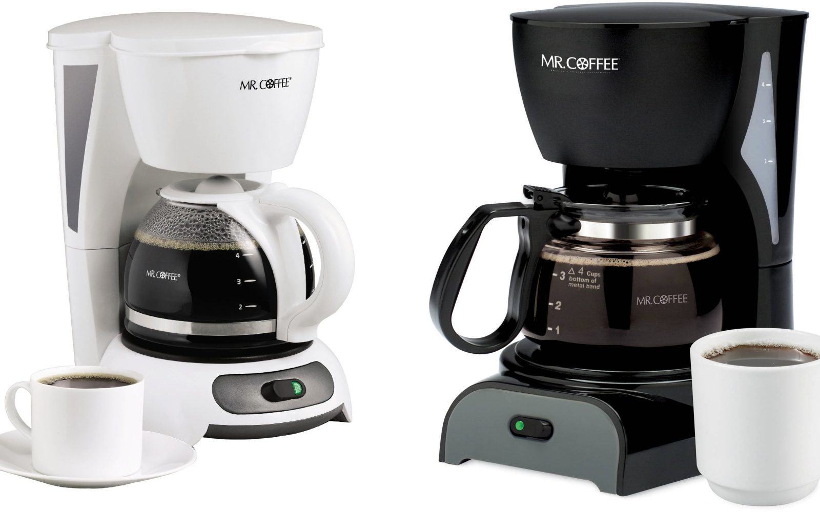 Grab One Of These Mini Mr Coffee 4 Cup Coffee Makers From Just 10