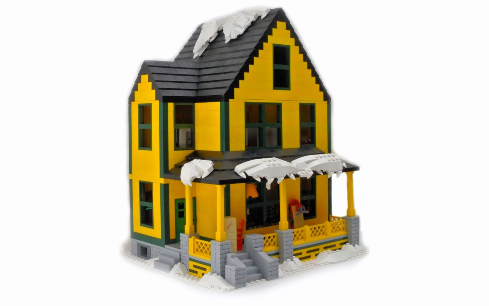 a christmas story comes to life in this lego ideas set that even includes the infamous leg lamp - When Is A Christmas Story Set
