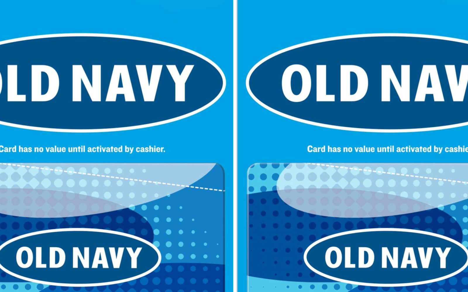 Gift Cards up to 20% off: Old Navy, Gap, Banana Republic