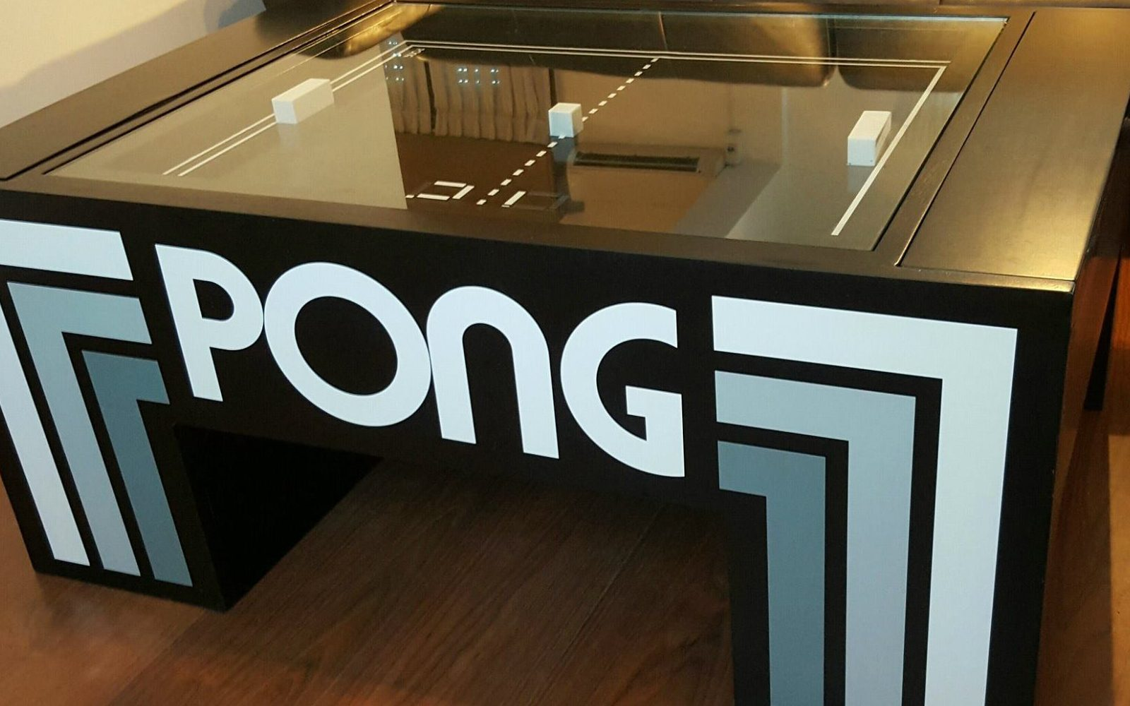 Pong Comes To Your Living Room With The Official Vintage Atari - Atari coffee table
