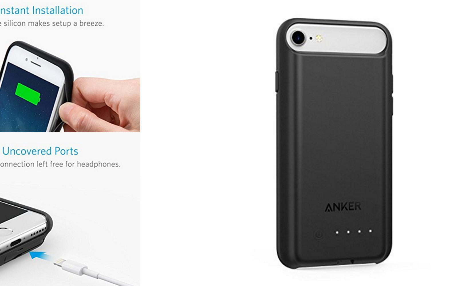 sports shoes 40806 6cdea Anker takes the wraps off new slim iPhone 7 battery case with ...