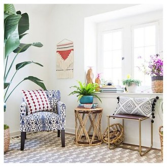 Global Chair & Decor Living Room Nook