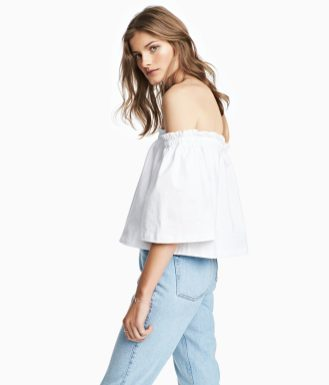 H&M Off-The-Shoulder Top