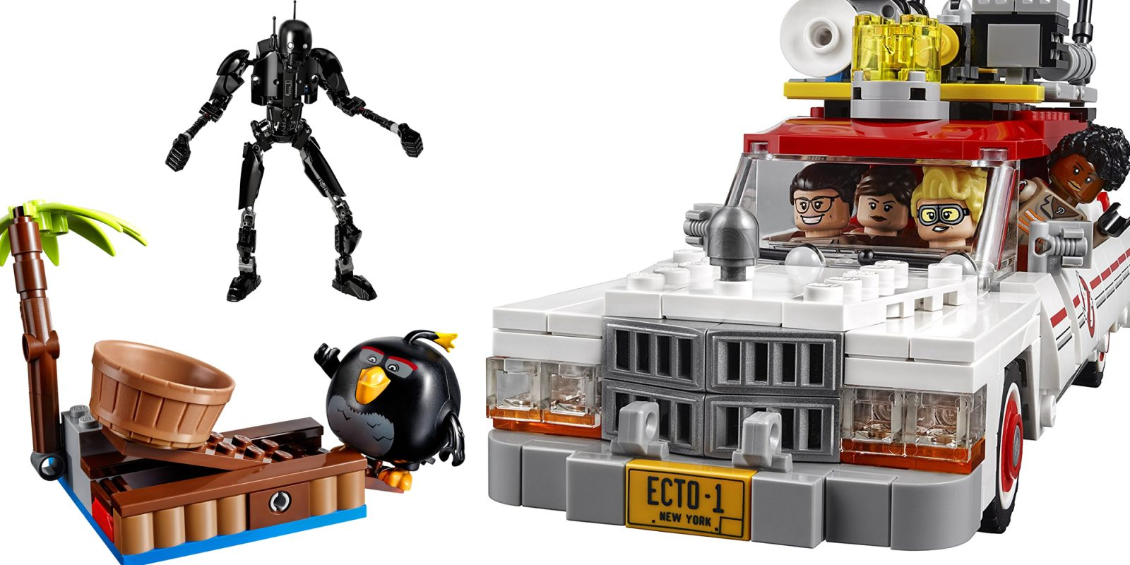 Lego Ghostbusters Ecto 12 40 Angry Birds 35 Star Wars 18 75828 1 Ampamp 2 More