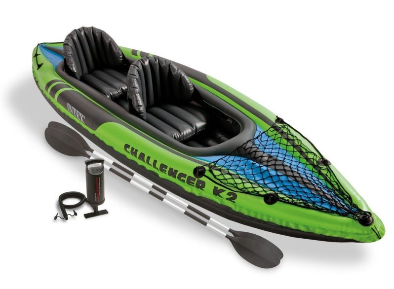 ntex Challenger 2-Person Inflatable Kayak Set