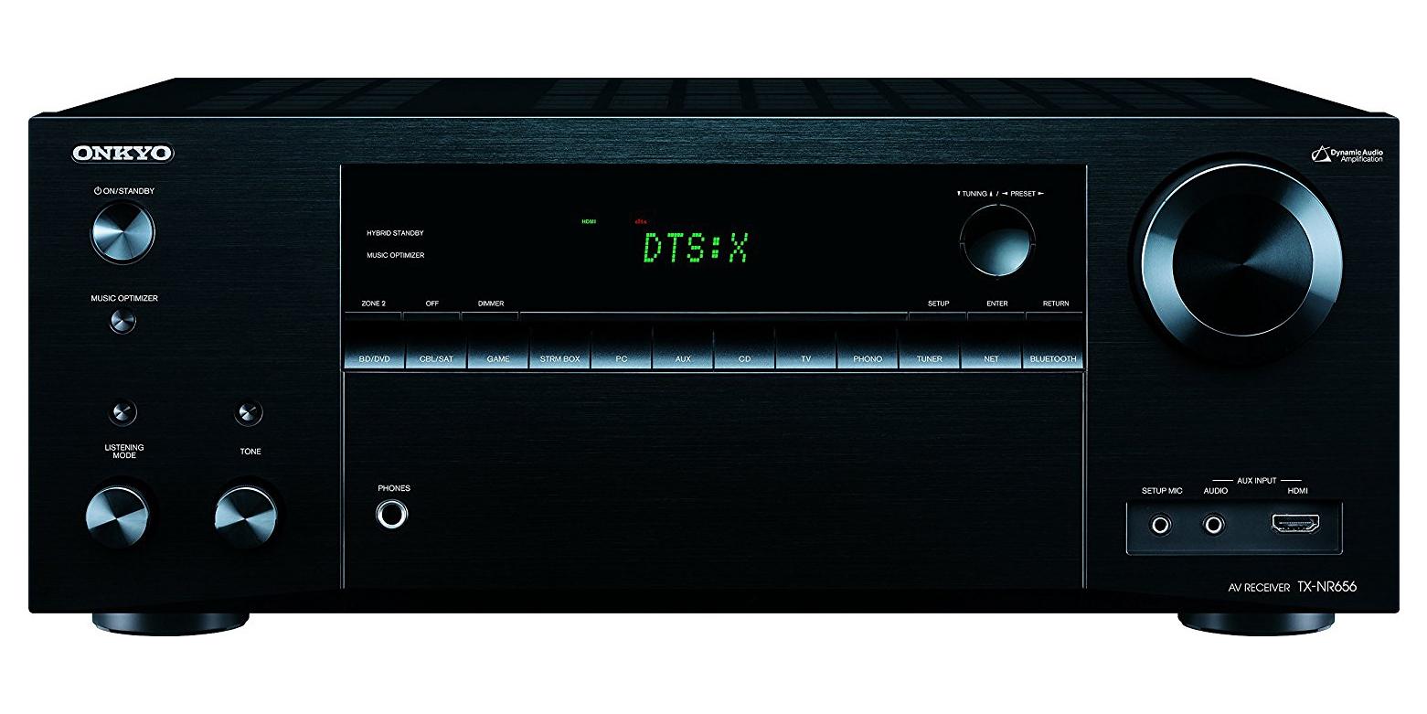 Onkyo 7.2-Ch. 4K A/V Receiver w/ 8 HDMI inputs + AirPlay: $320 (Orig. $600)