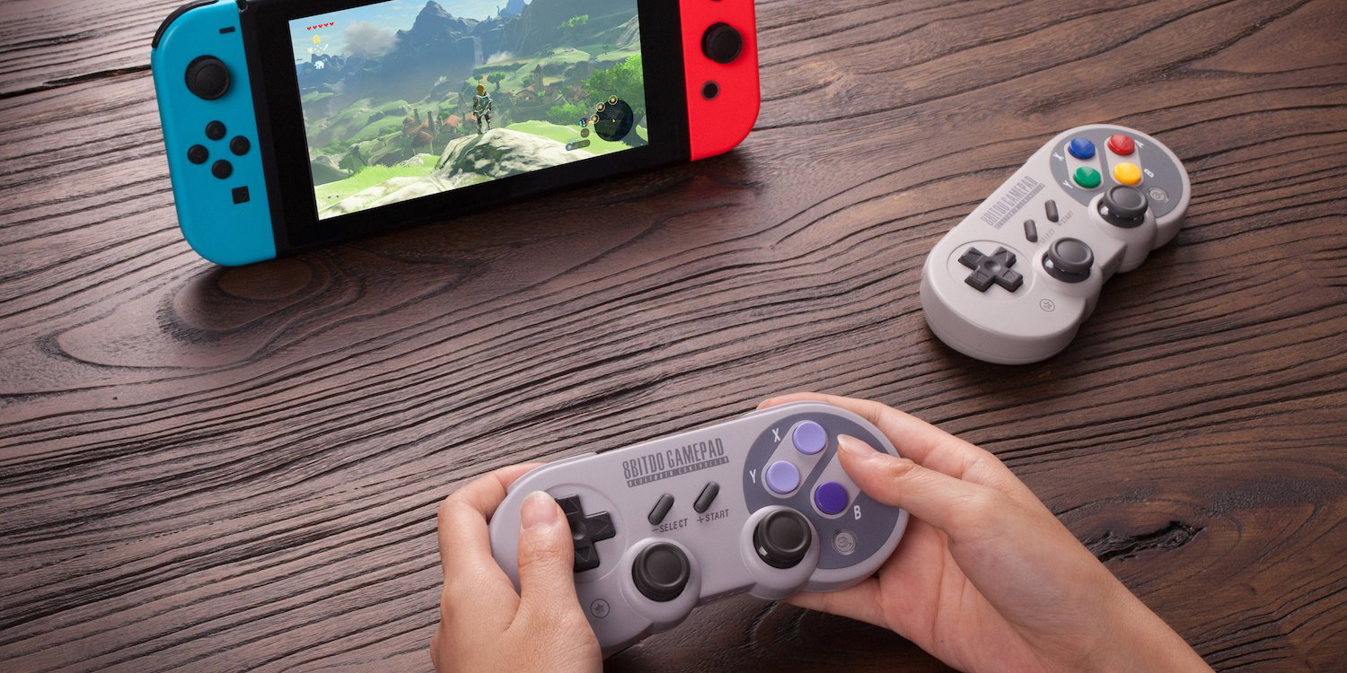 8bitdo Details Two New Switch Controllers With Retro Designs A Nes30 Pro Bluetooth Controller For Ios Android Pc Mac Speaker