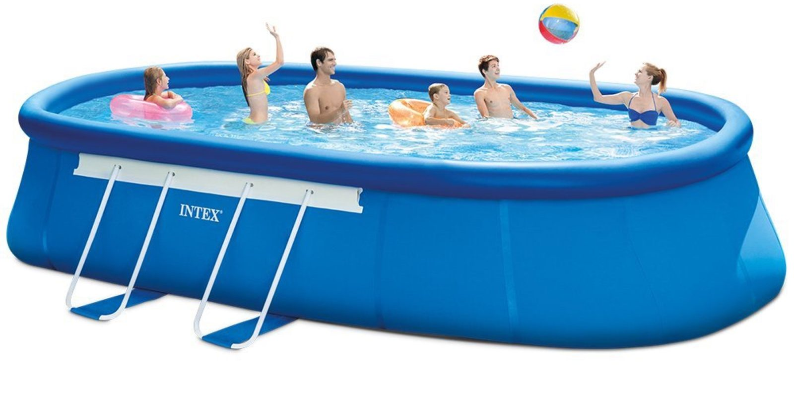 intex 20ft x 12ft x 48in oval frame pool set 350 shipped