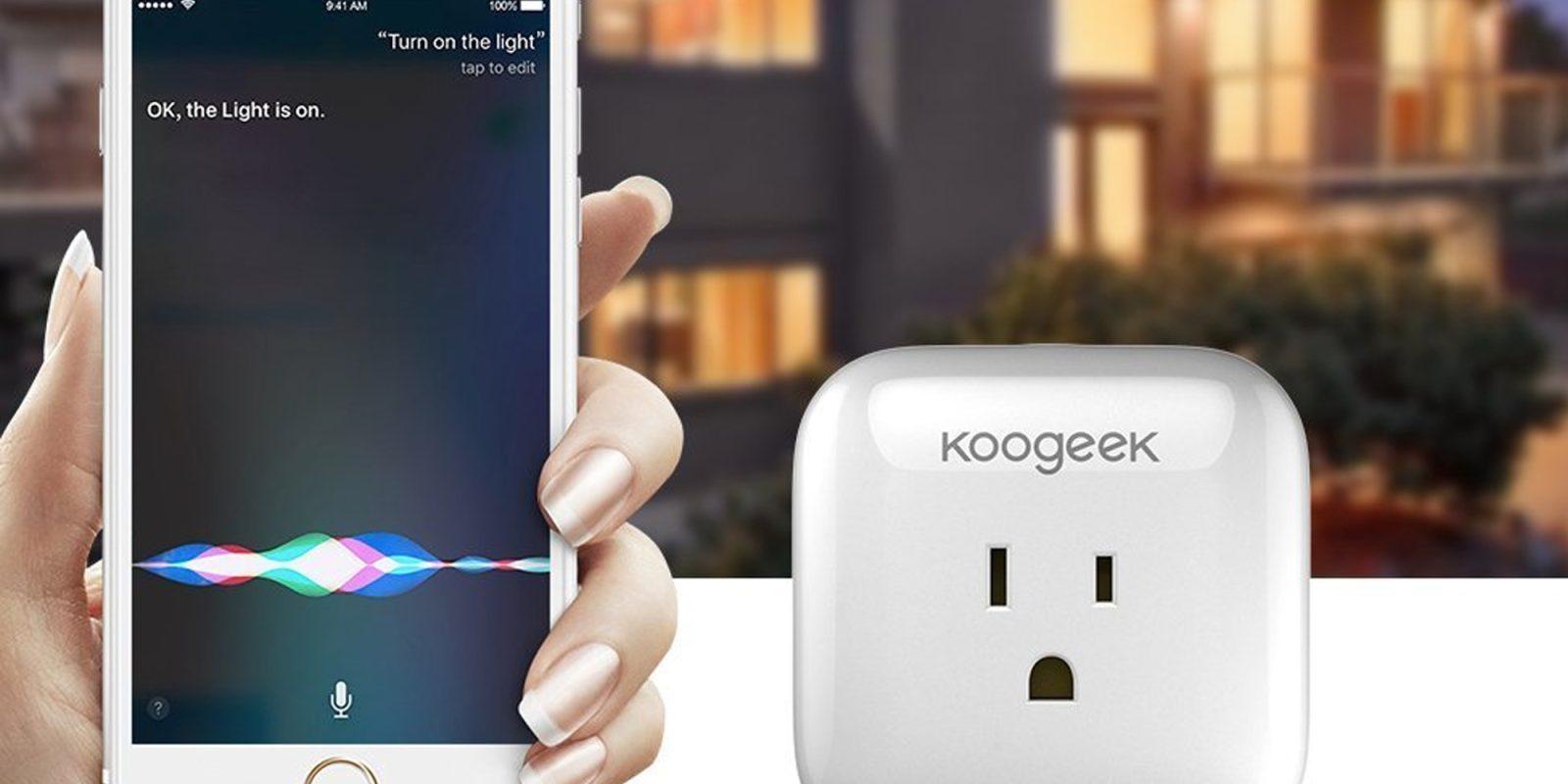 Koogeek Smart Plug for Apple HomeKit $21 Prime shipped - 9to5Toys