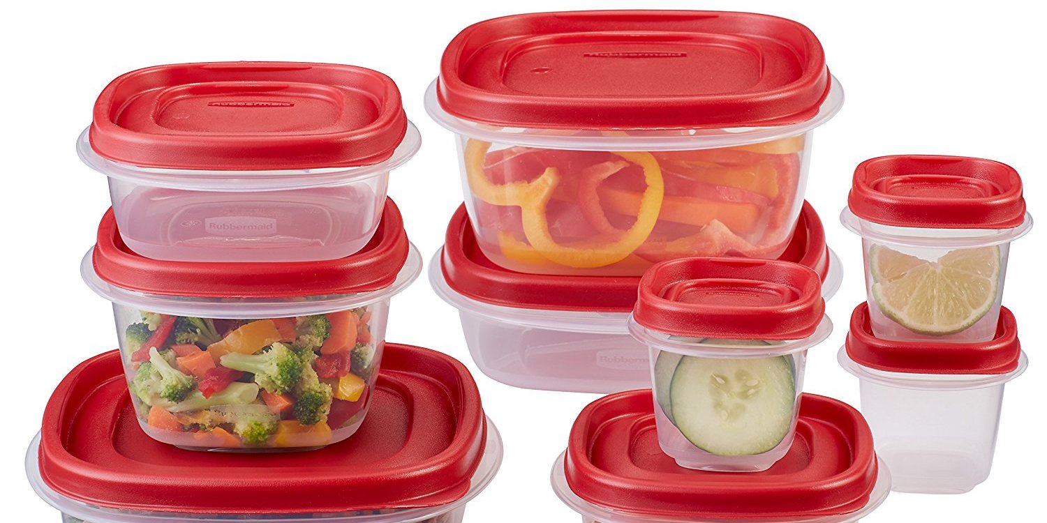 Rubbermaid Food Storage Container sets from under 7 Prime shipped