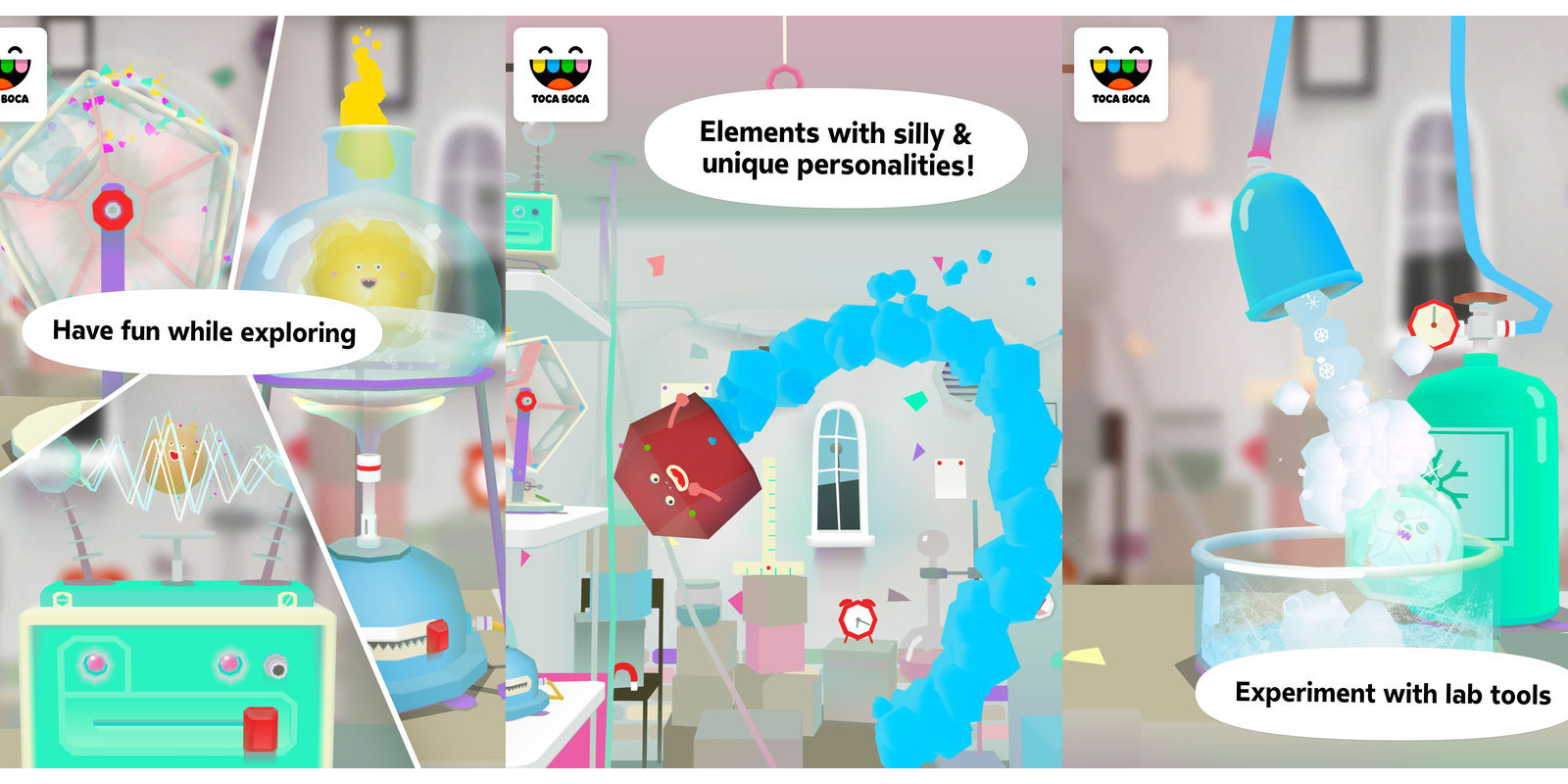 Toca Lab Elements Free On Ios For Very First Time Reg 3 9to5toys
