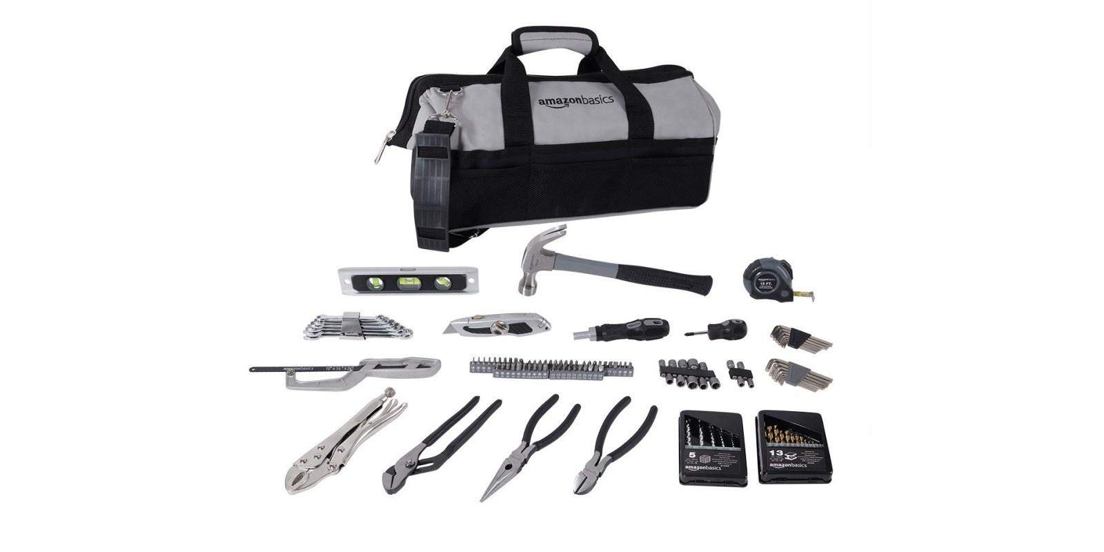 AmazonBasics 115-piece Home Repair Kit for $29 shipped (Reg. $45)