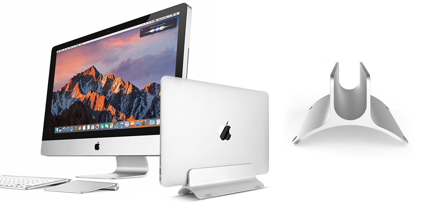 Dock your MacBook on this aluminum stand for just $20 Prime shipped