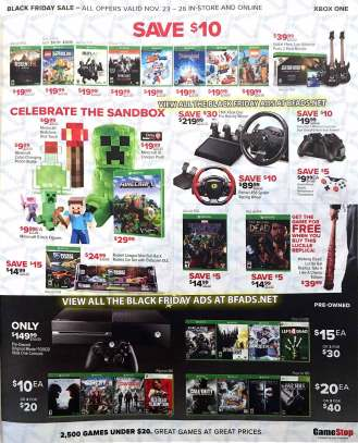 Gamestop Black Friday 2017-11