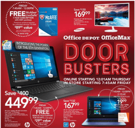 Office Depot Black Friday 2017-1