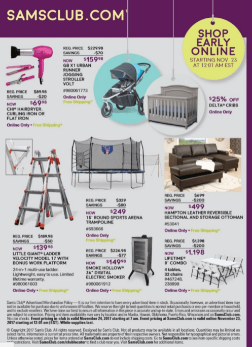 Sam's Club-Black Friday 2017-ad-11