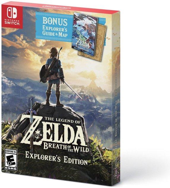 The Legend of Zelda Breath wof the Wild Explorer_s Edition