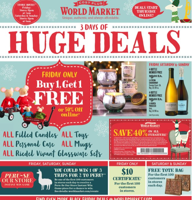 World Market BF Ad 1