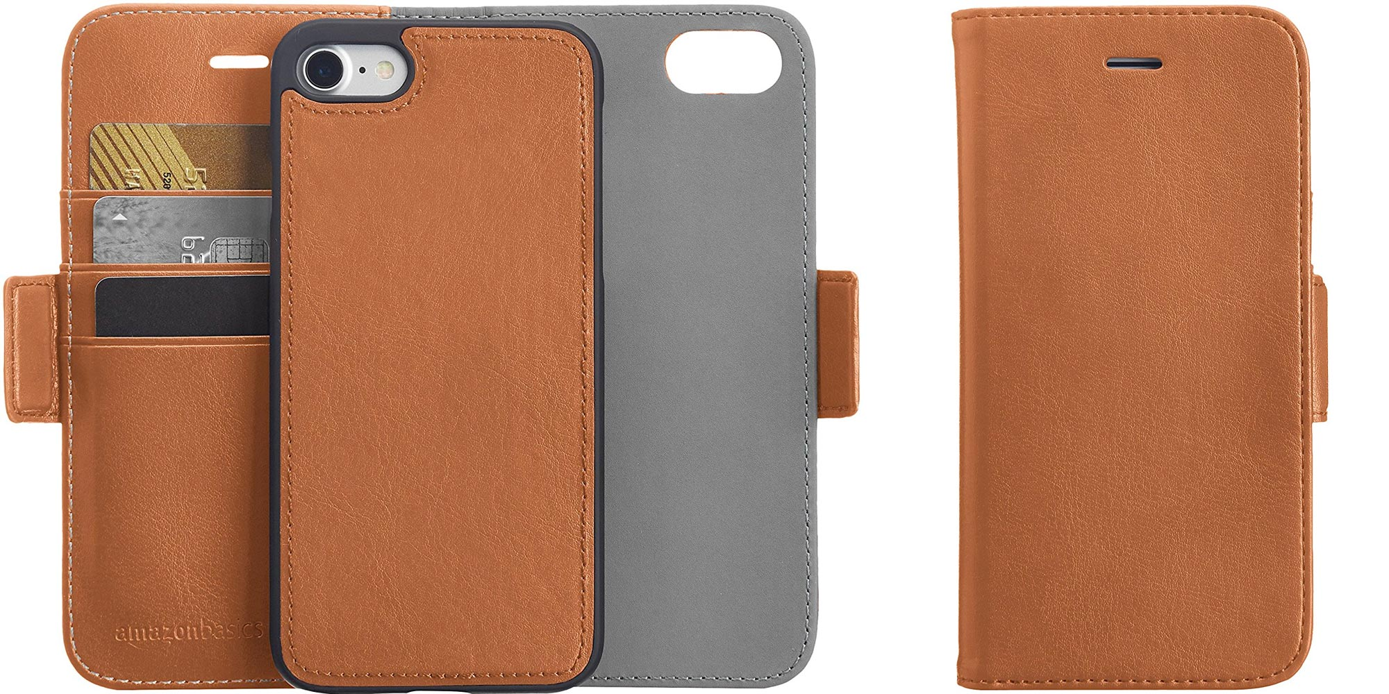 $2 can buy you a candy bar or this leather AmazonBasics iPhone 8/7 ...