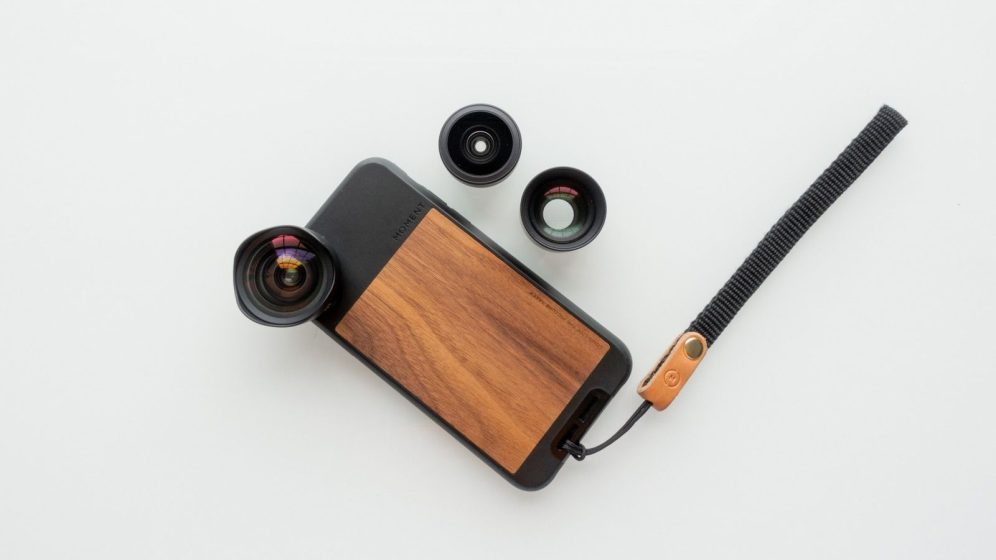 Moment Phone Case on iPhone X with Moment Wide, Tele, and Superfish