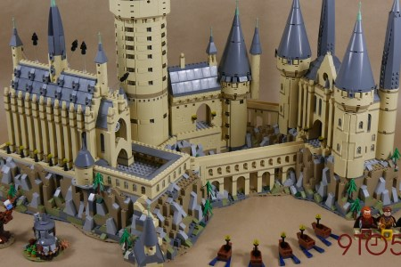 Lego Hogwarts Castle Original Path Decorations Pictures Full