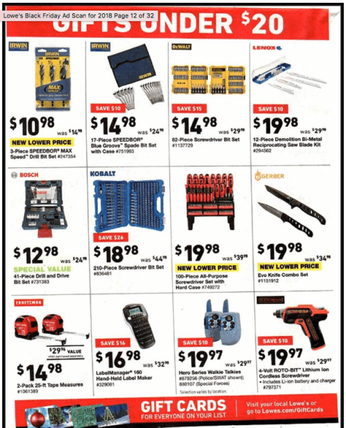 Lowe's Black Friday ad-13