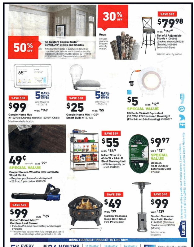 Lowe's Black Friday ad-26