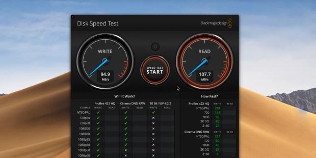 DS419slim speed test