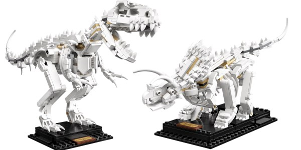 LEGO Ideas Dinosaur Fossils kit debuts three prehistoric builds - 9to5Toys