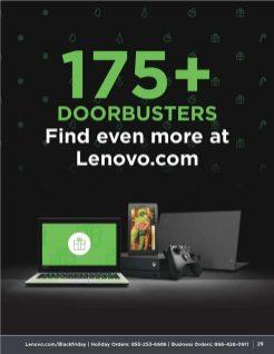 Lenovo Black Friday 2019 Ad 2