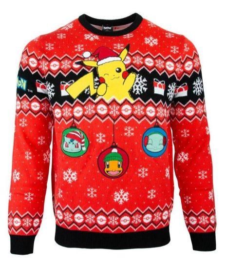 2019 Nintendo Christmas sweaters unveiled