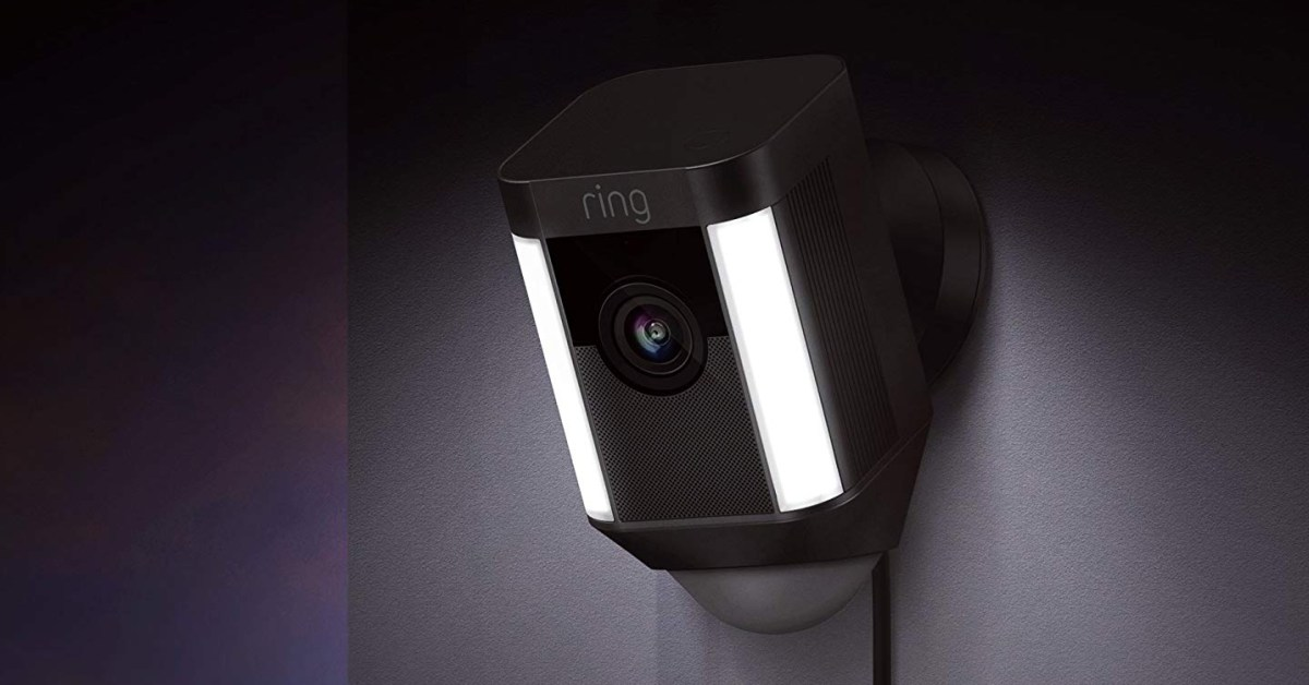 Score two Ring Spotlight Cams and secure your home at 50% off, now $100 each - 9to5Toys