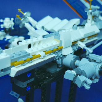 LEGO International Space Station Review 8