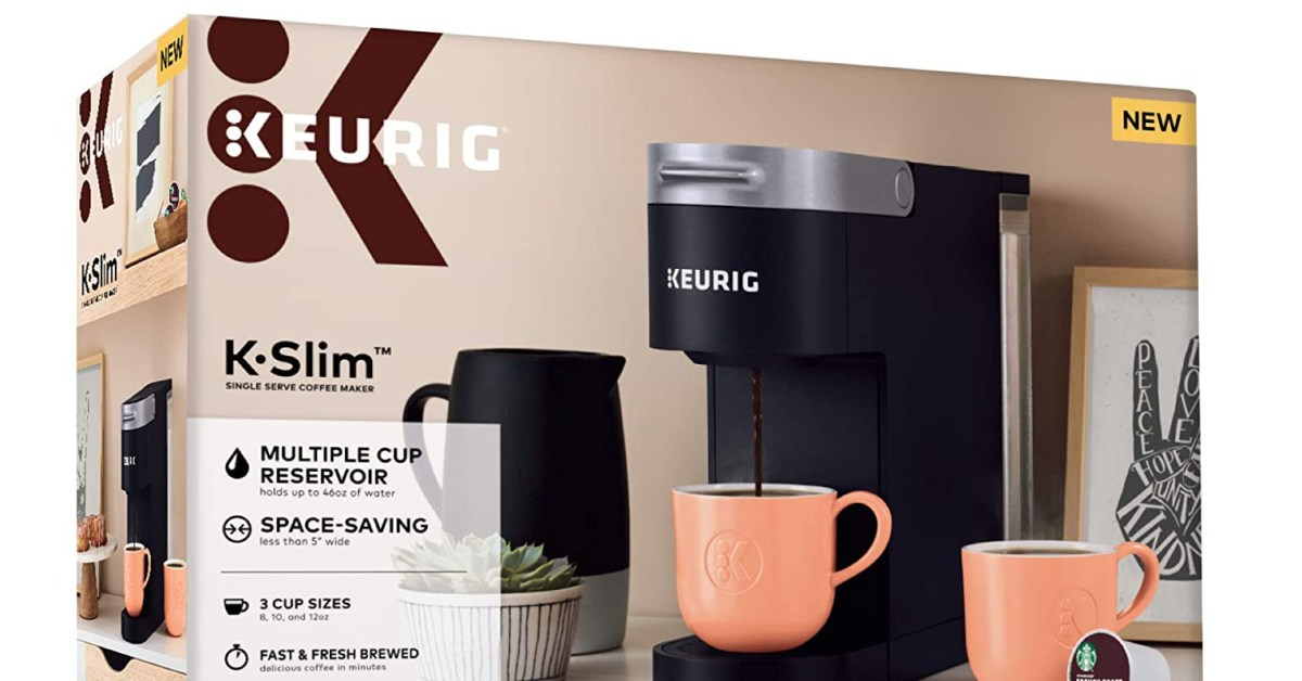 Keurig 5-inch K-Slim Coffee Maker down to $70 shipped for today only (Reg. up to $110)