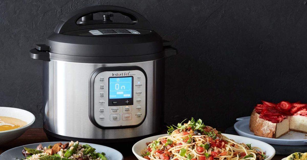 Instant Pot's 3-qt. Duo Nova Multi-Cooker now matching Amazon low at $50 (Reg. $80)