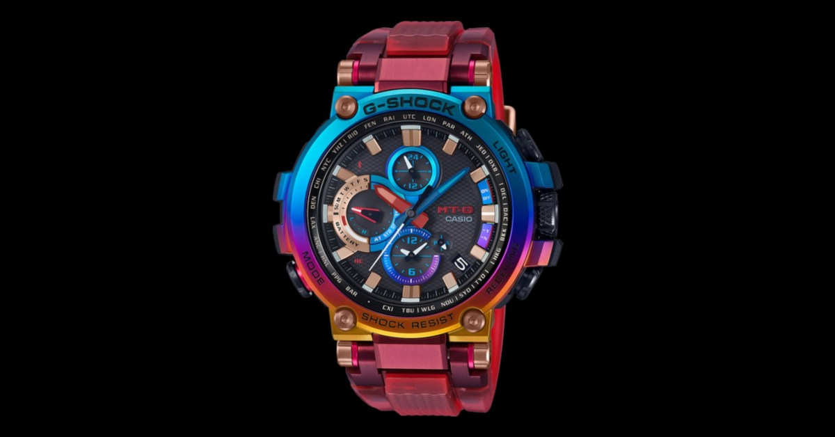 Metal-Twisted G-SHOCK bears kaleidoscopic design, Bluetooth, solar power, more