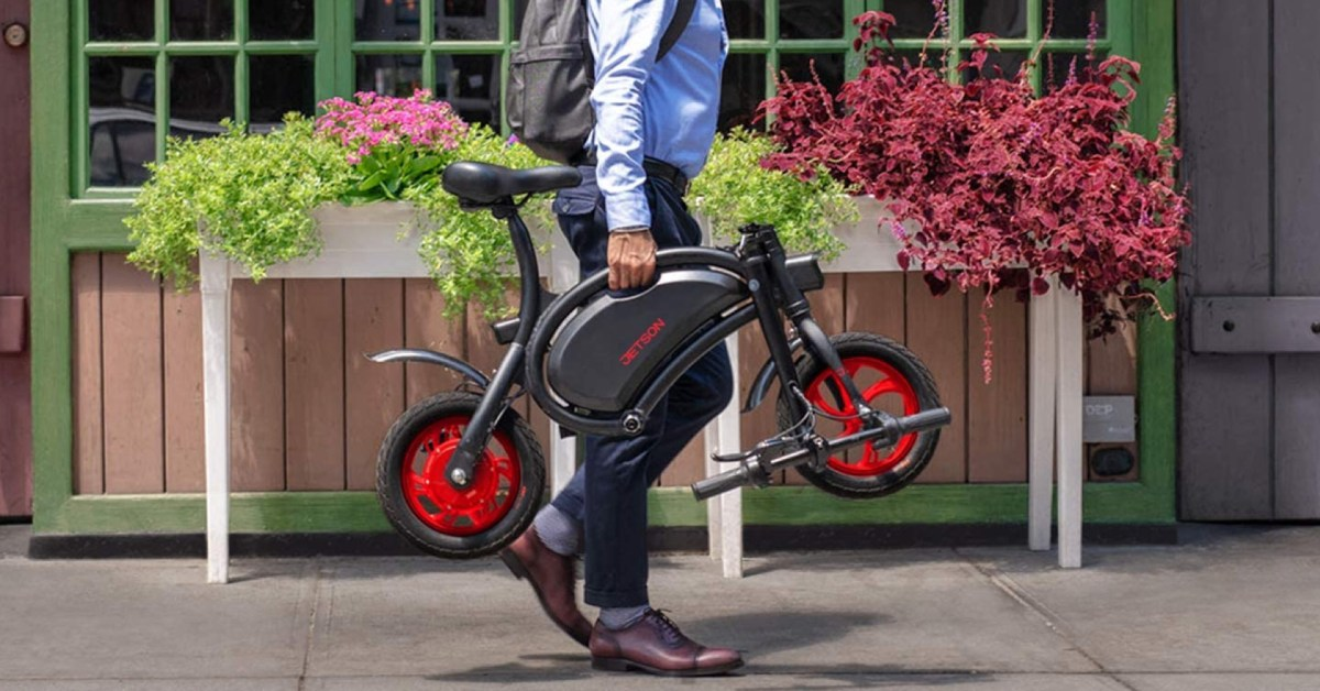 Take off with Jetson's Bolt Folding Electric Bicycle while it's $339 (Reg. $400, Amazon low) - 9to5Toys