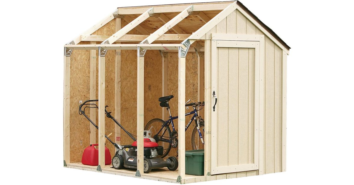 Build a shed with ease when using 2x4basics' custom kit at its lowest price in years, now $51 - 9to5Toys