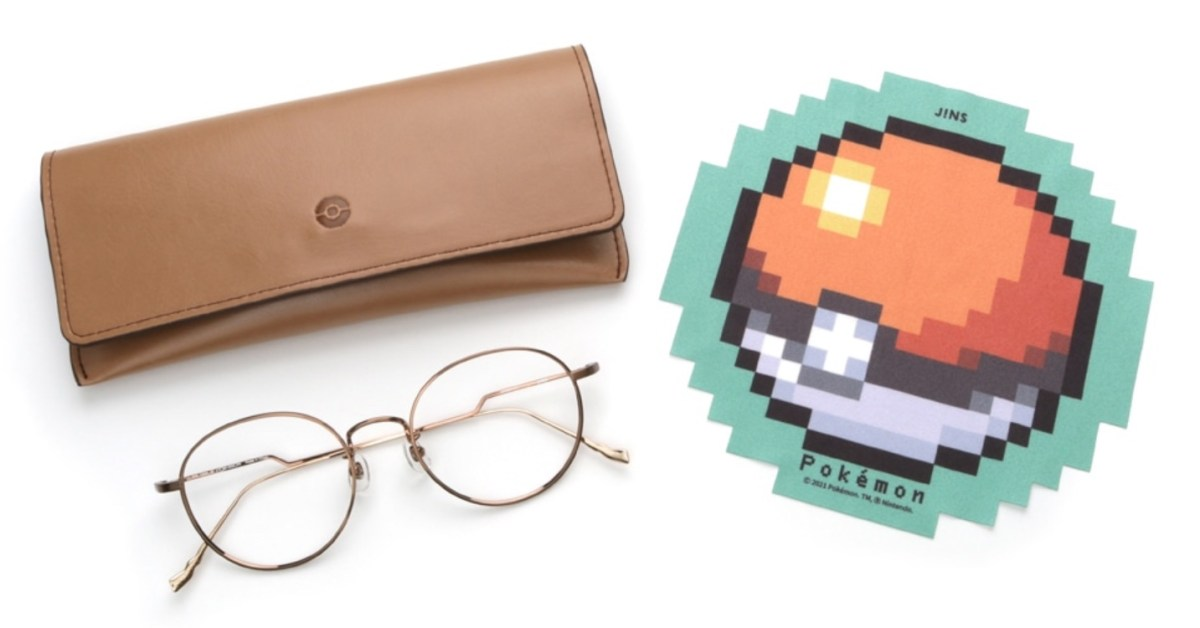 Pokémon glasses debut in partnership with JINS - 9to5Toys