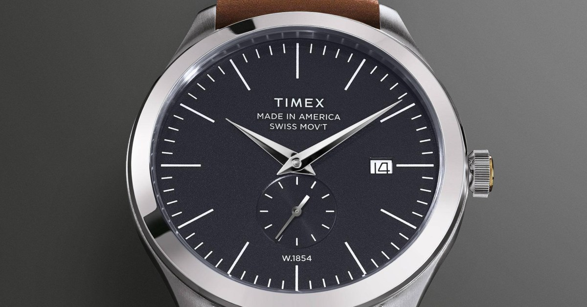 Timex End of Season Sale takes up to 50% off sitewide + extra 20% off your purchase