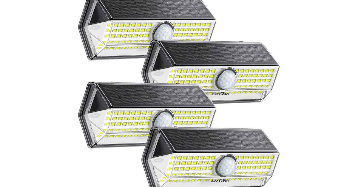 Add light to your yard with a 4-pack of 450-lumen solar LEDs, now just $5 each - 9to5Toys
